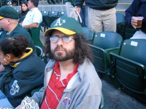 Daryl @ A's game