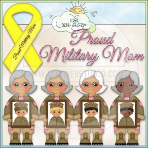 Proud Military Mom