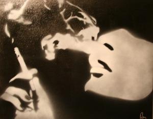smoking-lady