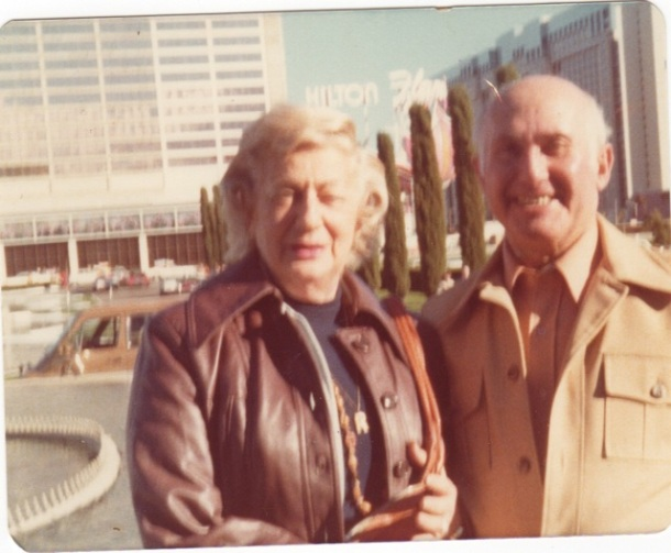 Rhoda and Toby Sheiner (my mother and father)