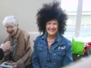 Susan in a Wacky Wig