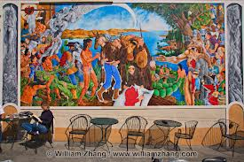 Oak mural
