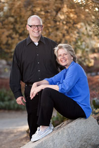Grant Barrett & Martha Barnette. Photo credit: Website A Way with Words